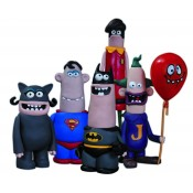 DC Nation Aardman Action Figures 5 Pack
