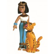 Cleopatra and her panther Asterix Figure Plastoy