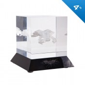 Batman: The Dark Knight Rises The Bat Glass Laser Etching Cube