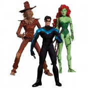DC Batman Hush Action Figure Box Set Scarecrow Nightwing Poison Ivy