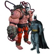 Batman Arkham City Batman VS Bane 2pack