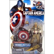 Captain America First Avenger Concept Series Desert Battle Captain America
