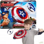 captain america star launch shield
