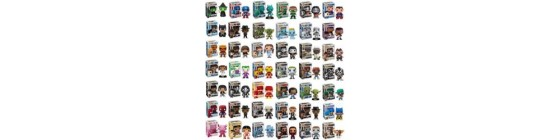 Pop Vinyl Bobble-Head Figures