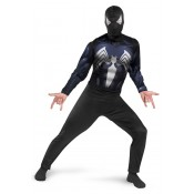 Black-Suited Spider-Man Classic Adult Costume - XL (42-46)