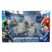 DC Comics Mini Figures 8-Pack Super Team 10 cm