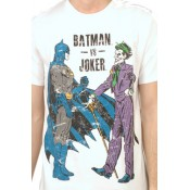 Batman T-Shirt Vs Joker White