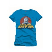 Superman T-Shirt Last Son of Krypton Blue
