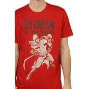 Batman Red Pose T Shirt