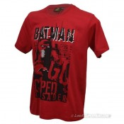 Batman Red Caped Crusader T Shirt