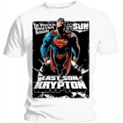 Superman T-Shirt Comic Poster