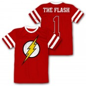 DC Comics Mesh Jersey - Flash Logo