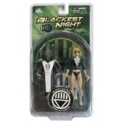 Blackest Night Series 7 Black Lantern Terra with Scar Action Figure