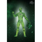 Green Lantern Series 4 hal Jordan Power Glow Action Figure