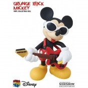 Disney VCD Vinyl Figure Grunge Rock Mickey Mouse 14 cm