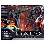 Halo Reach Gauss Cannon with Spartan Operator Action Figure