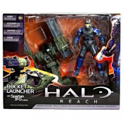 Halo Reach Rocket Launcher with Spartan JFO custom Figure