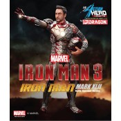 Iron Man 3 Action Hero Vignette 1/9 Mark XLII Battle Damaged Igor Armor