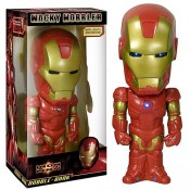 "Iron Man - 12"" Bobble Bank with Light-up Chest & Eyes with sound"