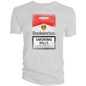 2000 AD T-Shirt Mega City One Smokatorium