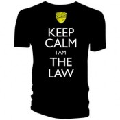 Judge Dredd Keep Calm I Am The Law T-Shirt