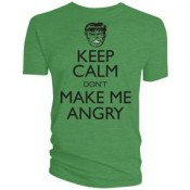 Hulk Keep Calm Dont Make Me Angry T-shirt