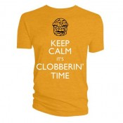 The Thing Keep calm it's clobberin' Time T-Shirt