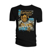 Marvel T-Shirt Fantastic Four #49 Cover Distressed