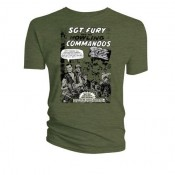 Marvel T-Shirt Sgt. Fury And His Howling Commandos #1 Cover