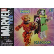 Marvel Minimates Universe Thing & DR Doom