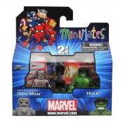 "Marvel Minimates Wave 41 First Appearance Iron Man & ""Bulked-Up"" Green Hulk"