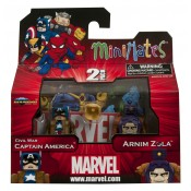 Marvel Minimates Wave 42 Civil War Captain America and Arnim Zola