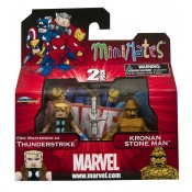 Marvel Minimates Wave 42 Kronan Stone Man with Thunderstrike