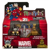 Marvel Minimates Wave 42 Kronan Stone Man and Eric Masterson Thor