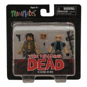 The Walking Dead Minimates Series 4 Governor and Bruce