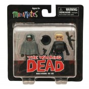The Walking Dead Minimates Series 4 Michonne and Gabe