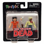 The Walking Dead Minimates Series 4 Lori /Shoulder Zombie