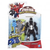 Marvel Ultimate Spider-man Web-Warriors Web Slingers Agent Venom Action Figure