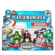 Marvel Captain America Super Hero Squad 3-pack - Raid on Enemy Headquarters