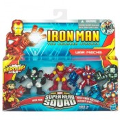 Marvel Iron Man Super Hero Squad 3-pack - War Mechs