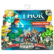 Marvel Super Hero Squad 3-pack - Asgardian Smash