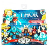Marvel Thor Super Hero Squad 3-pack - Battle in the Frozen Land