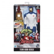 Marvel Avengers Titan Hero Series Beam Blaster Iron Man Action Figure