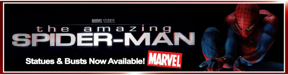 The Amazing Spiderman Statues and Busts Now Available!