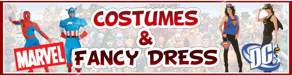 Be the hero of the party, get your costume today!