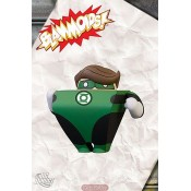 Blammoids Series 01 Green Lantern Hal Jordan Action Figure