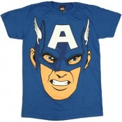 Captain America - Cappy Face T-shirt