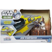 Jedi Force Deluxe Vehicle Anakin's Jedi Starfighter with Anakin Skywalker & R2-D2