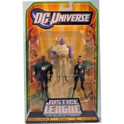 Justice League Unlimited Three-Packs - Despero, Green Lantern, Katma Tui 3-Pack Action Figures