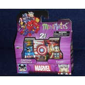 Marvel Minimates Best Of Wave Captain America & Thor